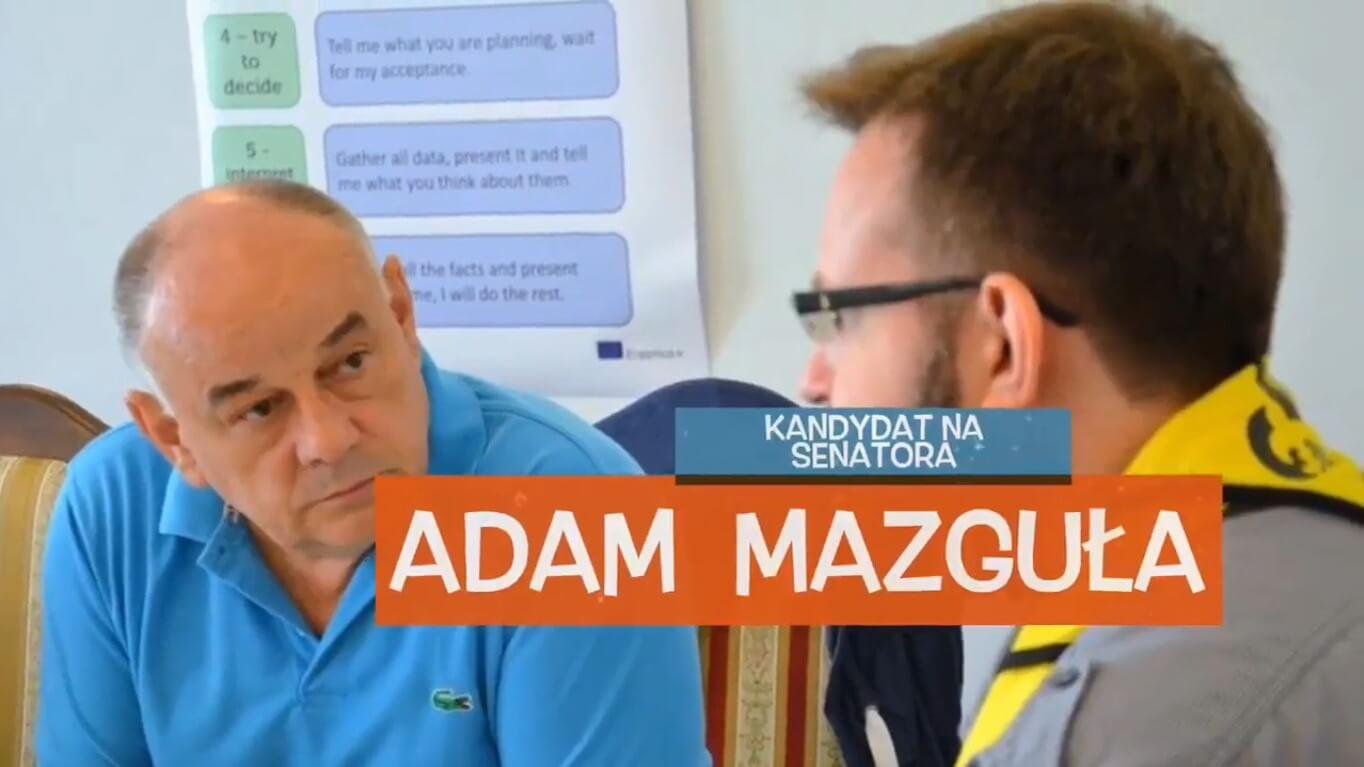 Adam Mazguła. Wybory do Sejmu i Senatu Rzeczypospolitej Polskiej
