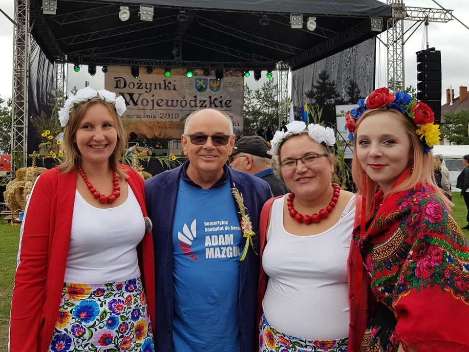 W Lewinie na Opolskich Dożynkach Wojewódzkich