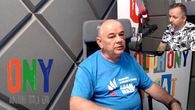 Adam Mazguła w rozmowie radia ONY