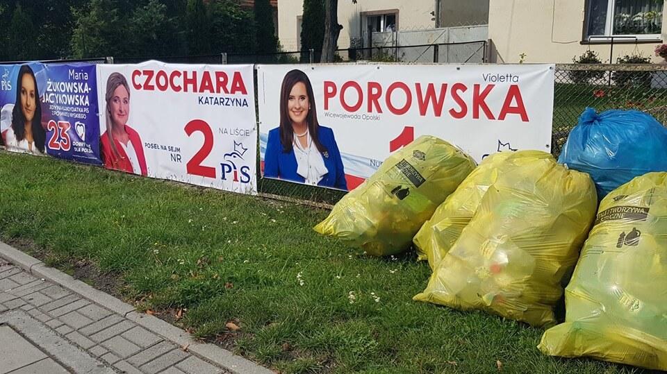 PiS zaśmiecił całą Polskę