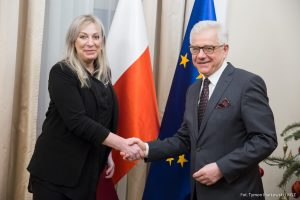Beata Pęksa – Ambasador Nadzwyczajny i Pełnomocny RP w Republice Iraku