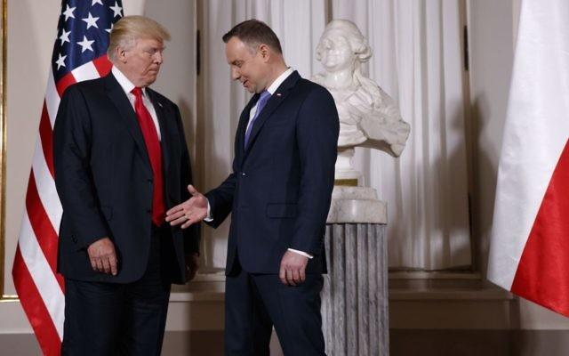 Andrzeju Dudo, mnie nie zbajerujesz Ameryką!